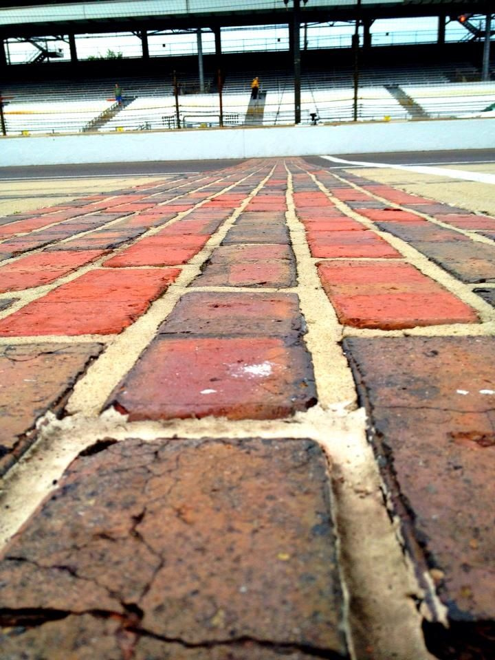 The Infamous Brickyard. My feet have crossed those bricks twice from running the Mini Marathon