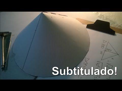 Trazado de Sombrero Chino - Caldereria - YouTube