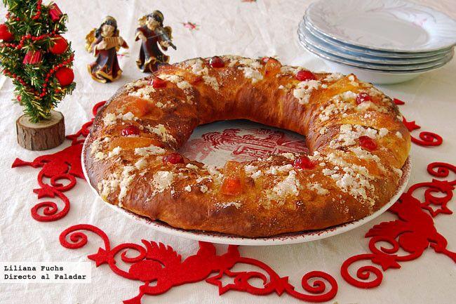 Receta de Roscón de Reyes sin huevo ni lácteos. Con fotos paso a paso, consejos y sugerencias de degustación. Roscón de Reyes vegetariano....