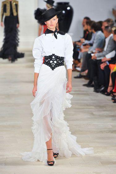 Ralph Lauren Spring 2013: Ralph Lauren, Fashion Weeks, Spring2013, Lauren Spring, New York Fashion Week, Dress, Runway, Fashion Trends, Spring 2013