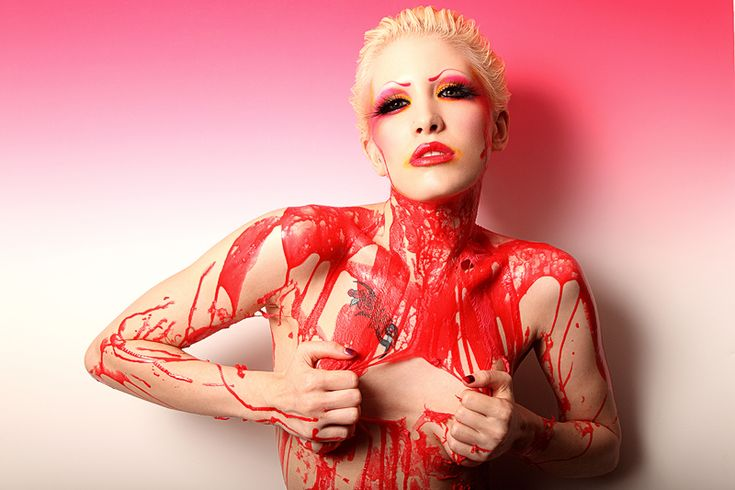 Red Liquid Latex. by Ryo-Says-Meow.deviantart.com