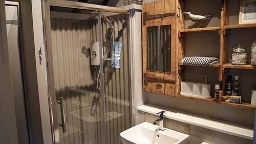 ned's nest-shower and bathroom