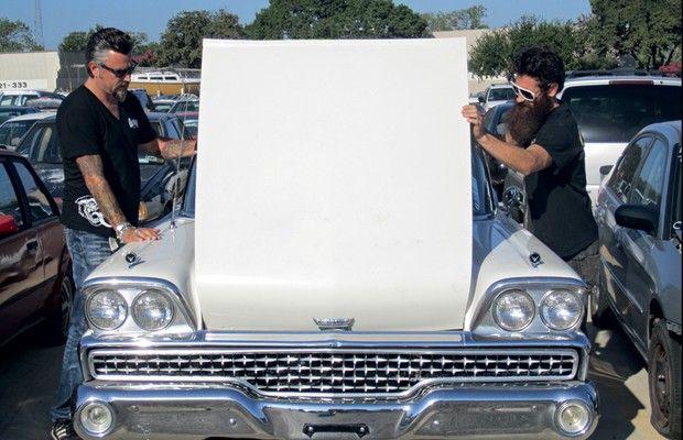 Autoesporte foi até a Gas Monkey garage conhecer os bastidores (e criações) do programa Dupla do Barulho, do canal Discovery