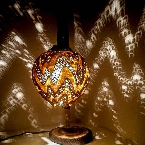 CHRISTMAS DECOR Gourd lamps handcrafted Ottoman Turkish lamps