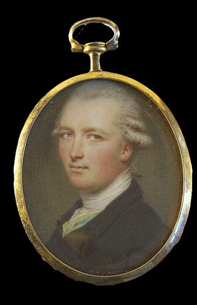 A fine portrait of Arthur Shakespeare by John Smart, signed and dated 1787