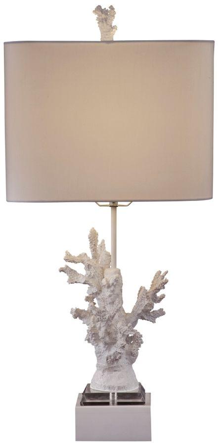 Bassett Mirror Coral Table Lamp