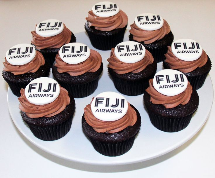 Fiji Airways Cupcakes Like us at www.facebook.com/melianndesigns