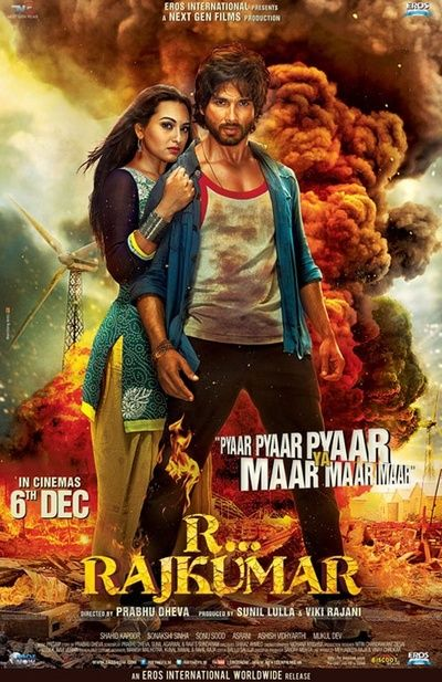 Bollywood is offering up action flick R...Rajkumar