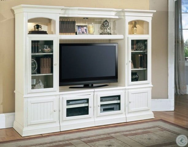 Undefined Fireplace Entertainment Center Parker House Entertainment Center Living room entertainment center white