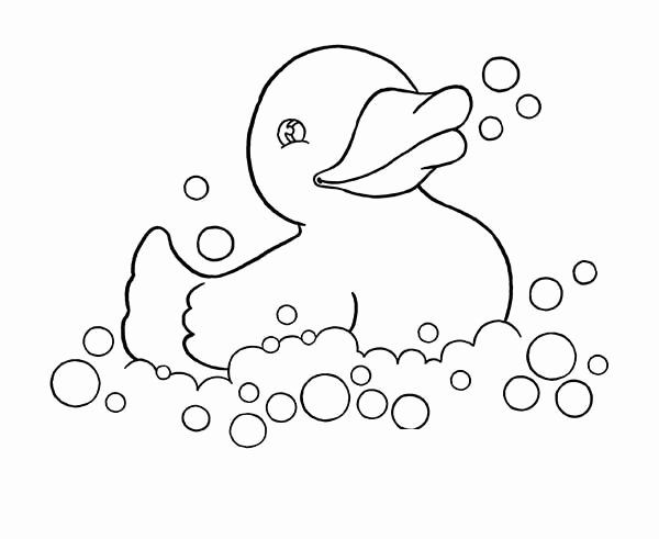 Rubber Duck Coloring Page Awesome Rubber Ducky Playing With Bubbles Coloring Page Coloring Sky Coloring Pages Family Coloring Pages Coloring Pictures