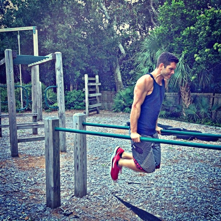 Outdoor obstacle course get outdoors and get fit on our for Diy jungle gym ideas