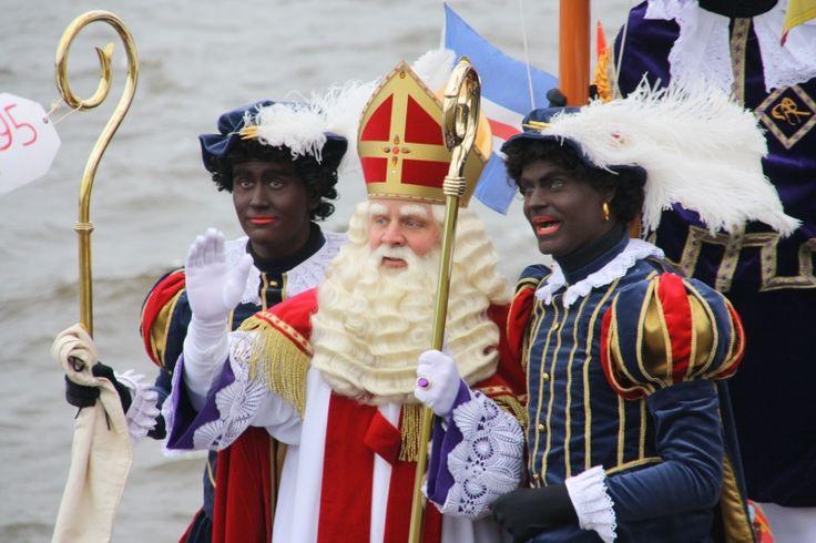 Pieten en Sinterklaas