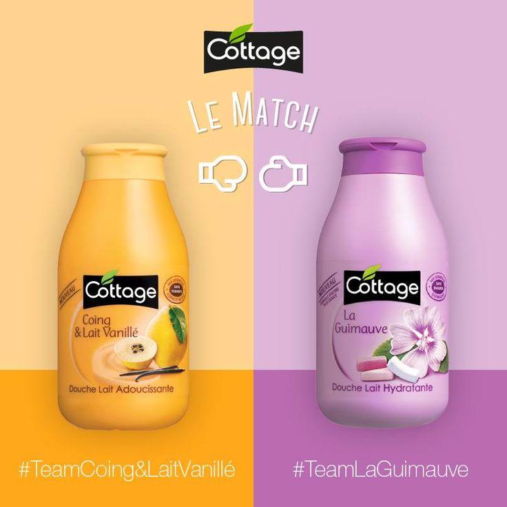 Le premier match Team Cottage 2016 est lancé !  Alors, êtes-vous plutôt #TeamCoingVanille ou #TeamGuimauve ?