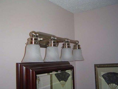 Bathroom Lights Ideas 108 best bathroom - lighting over mirror images on pinterest