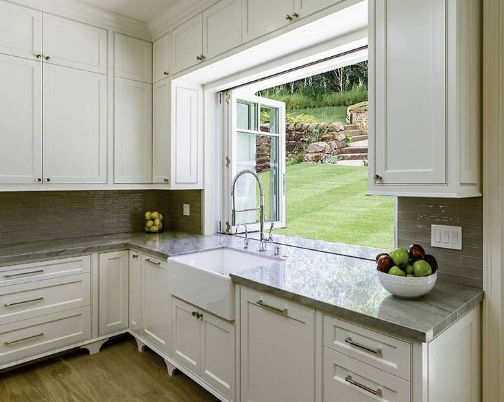 Types Of Kitchen Windows Popular, Kitchen Cabinets Around Windows