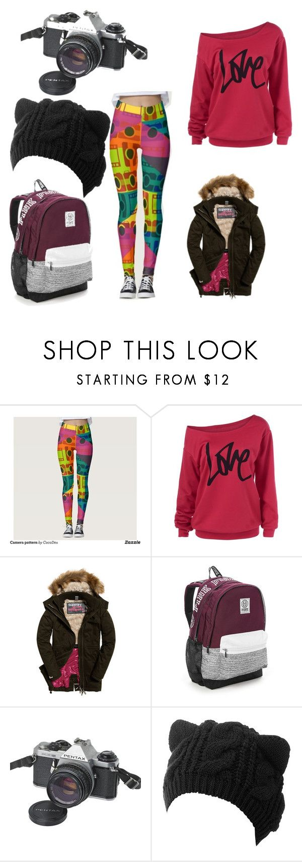 """""""Winter photo"""" by cocodes on Polyvore featuring Victoria's Secret, Pentax, photography, camera and photographer"""