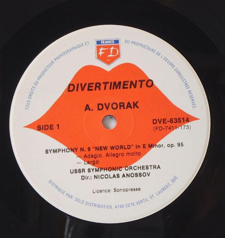 RaRe DVORAK, Symphony No.9,U.S.S.R. (Russia) Symphonic Orchestra Nicolas Anossov #Symphony