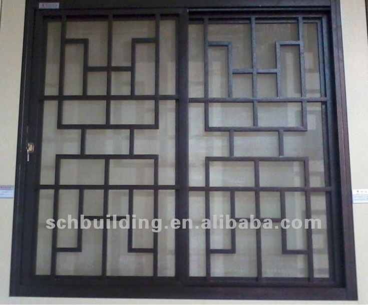 new window grill design China (Mainland) Windows