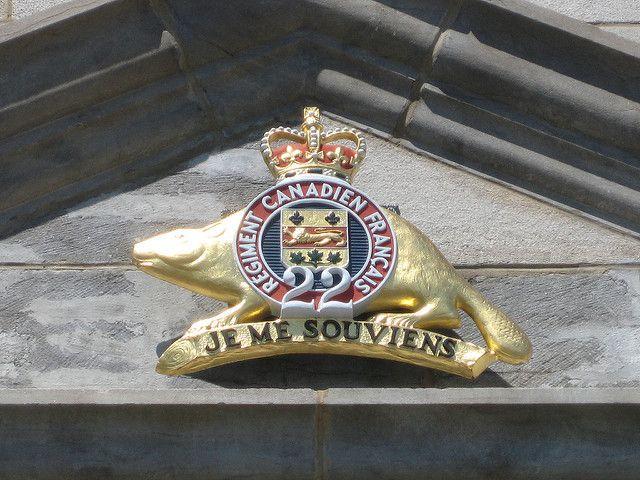 Tire canon citadelle Quebec | Royal 22è Régiment Emblem | Flickr - Photo Sharing!