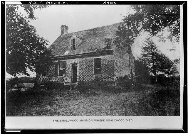 Photo:Smallwood's Retreat,State Routes 224 & 484,Marbury,Charles County,MD