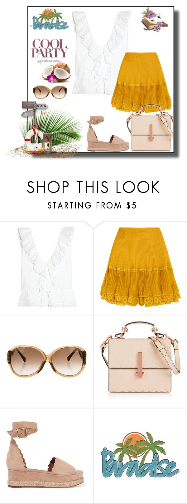"""""""07/07/2017"""" by amberbree on Polyvore featuring moda, Vanessa Bruno, Chloé, Louis Vuitton y Kendall + Kylie"""