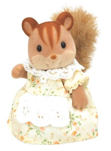Calico Critters WALNUT SQUIRREL MOTHER
