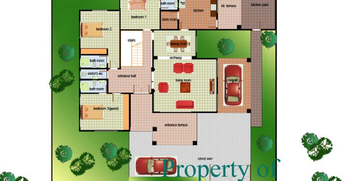 Obrapa house plan ghana building plans design ghana for House plans in ghana