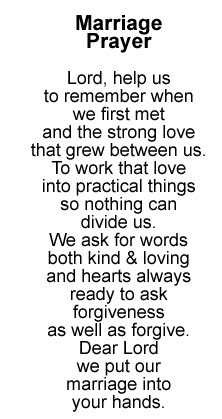 21 best Wedding Prayers images on Pinterest | Wedding prayer ...
