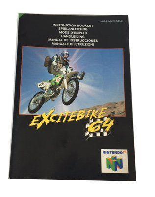 N64 – Excitebike 64 Instructions (EU)  Nintendo  Manuals & Inserts www.detoyboys.nl