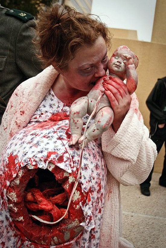 cool zombie halloween costume and makeup ideas - Halloween Scary Costumes For Boys
