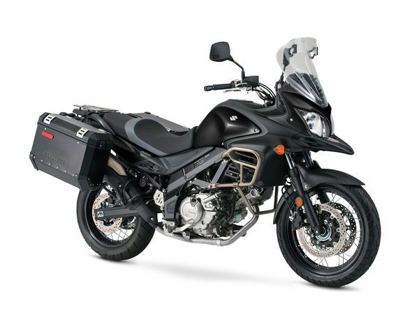 FIRST LOOK: Suzuki's middleweight V-Strom 650 ADVs and dual-sport lineup for 2016.