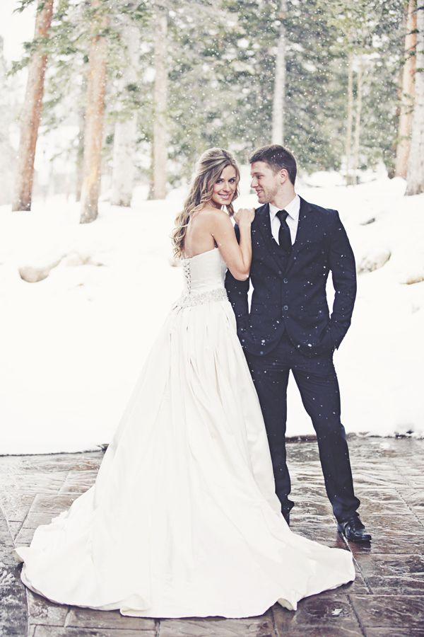 Breckenridge Colorado Wedding Photography   Snowy, Winter Wedding