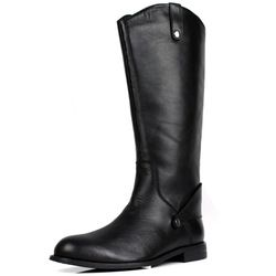 Online Shop 2014 new fashion black cool brand winter mens thigh knee high gladiator heels boots round toe genuine leather snow boots men|Aliexpress Mobile