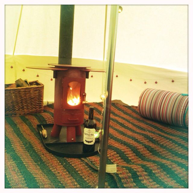 Cosy camping ALL YEAR ROUND