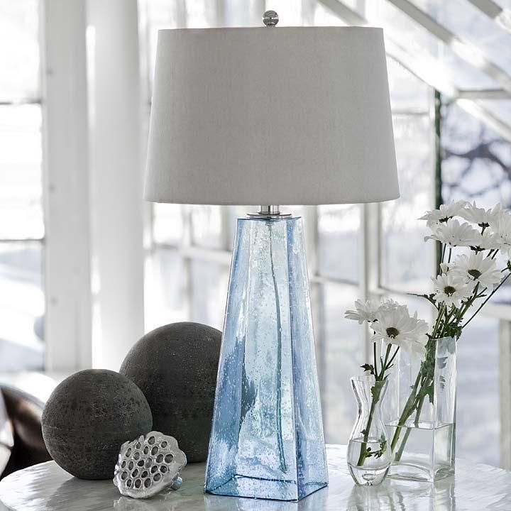 The 25 best blue glass lamp ideas on pinterest bedside lamps regina andrew lighting baha blue glass table lamp from chintomby nasafi grayce aloadofball Choice Image