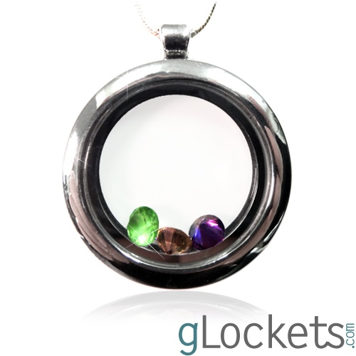 gLocket Circle: Glasses Lockets, Mothers Day, Circles Lockets, Gifts Ideas, Lockets Necklaces, Circles Glasses, Codes Violets, Kids Birthstones, Families Birthstones