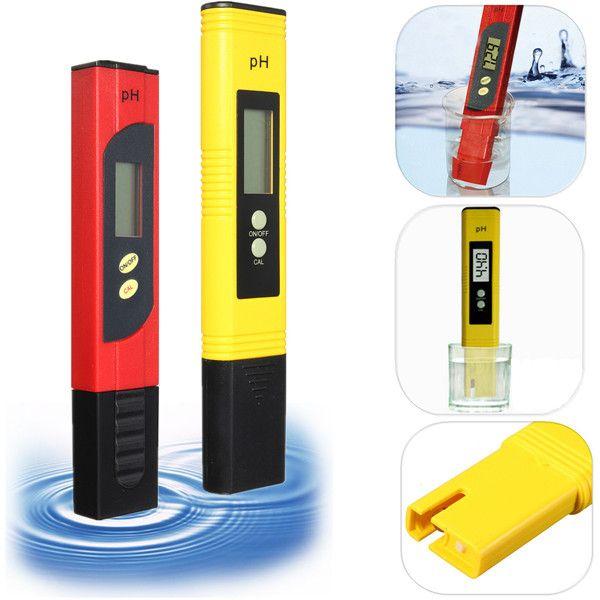 LCD Protable Digital PH Meter Tester Aquarium Pool Water Wine Urine Pen Monitor