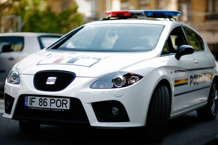 SEAT Leon Cupra Police Car