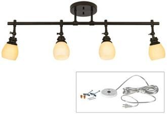 Craftsman style directional light. Pro Track Deco Scroll 3-Light Fixture 27096 - Google Search