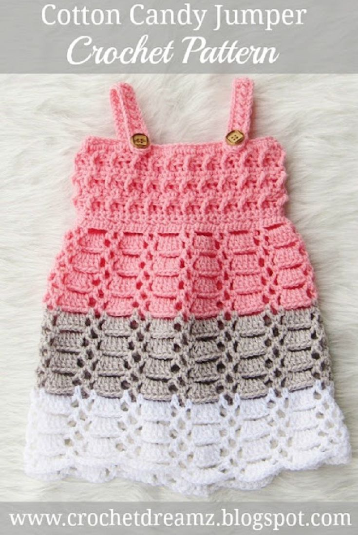 Free Crochet Patterns For Baby Girl Clothes : 25+ Best Ideas about Crochet Baby Dresses on Pinterest ...