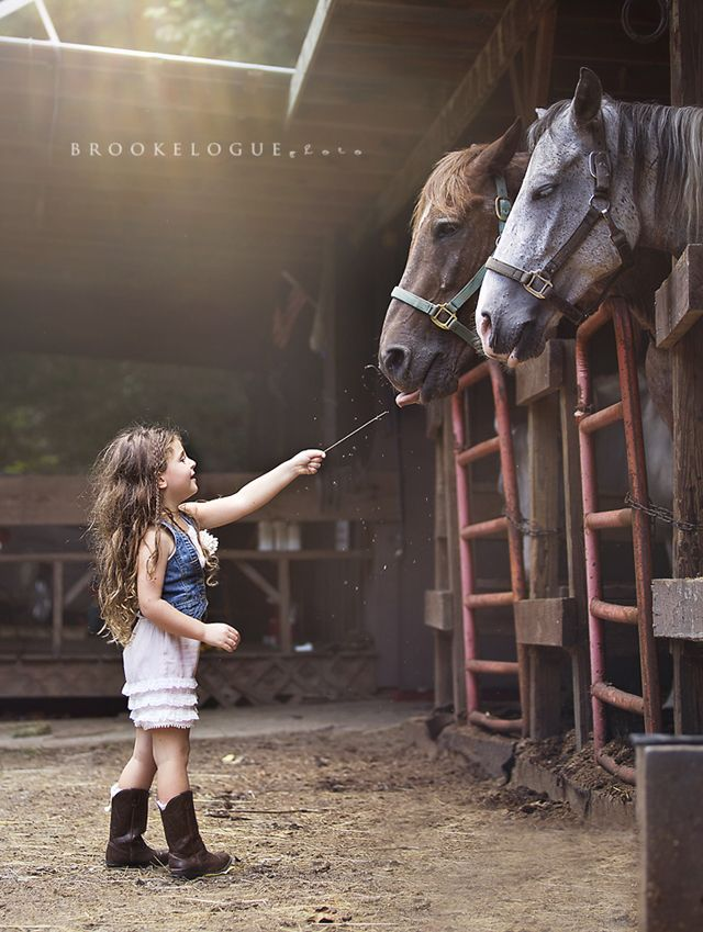 A Sneak Peak of our Summer Family Road Trip of My GIRL. » Brooke Logue Photography......my love :horses