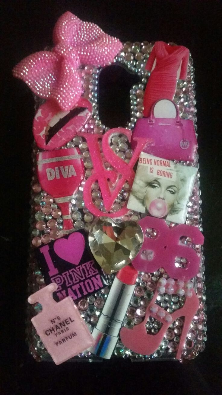 Vicki Secrets Inspired phone case...any theme..any phone type!