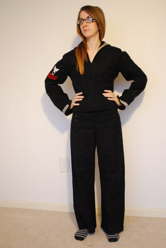 Ww2 Us Navy Dress Blues Crackerjack Uniform Things I