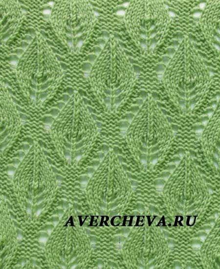 Растительные узоры-вязание спицами. Коллекция. - Вязание - Страна Мам