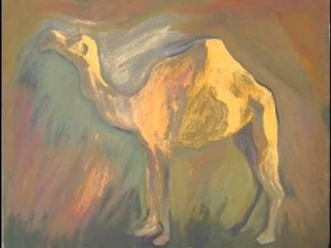 Camel, piano improvisation to painting, Jussi Vaarala