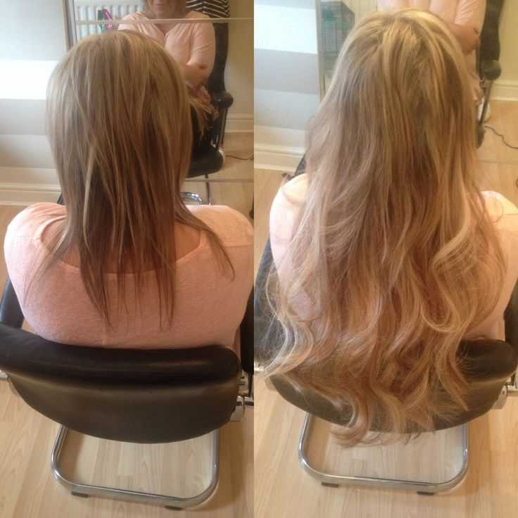 Russian Micro Bonded Hair Extensions Pehairextensions