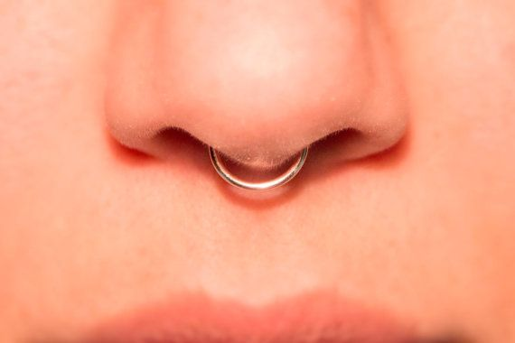 Hey, I found this really awesome Etsy listing at https://www.etsy.com/listing/211573894/rose-gold-septum-cuff-fake-nose-ring-20