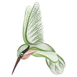 Rippled Hummingbirds 04(Sm) machine embroidery designs