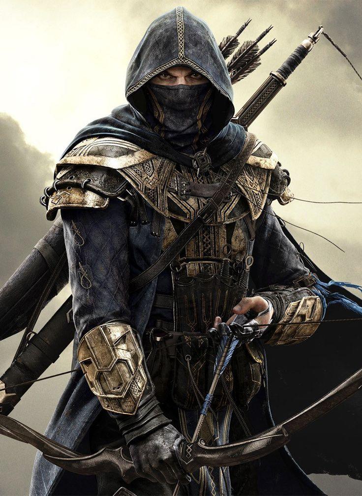 Elder Scrolls game art