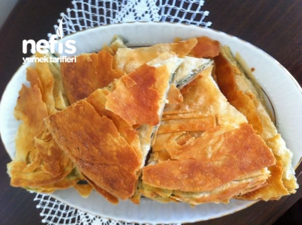 Ispanaklı Kıyır Börek